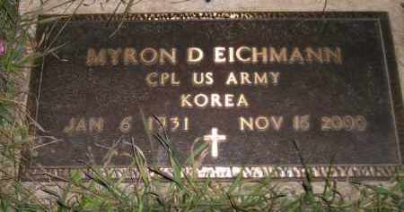 EICHMANN, MYRON D. (MILITARY) - Miner County, South Dakota | MYRON D. (MILITARY) EICHMANN - South Dakota Gravestone Photos