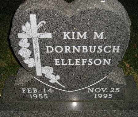 DORNBUSCH ELLEFSON, KIM M. - Miner County, South Dakota | KIM M. DORNBUSCH ELLEFSON - South Dakota Gravestone Photos