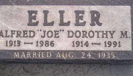 "ELLER, ALFRED ""JOE"" - Miner County, South Dakota | ALFRED ""JOE"" ELLER - South Dakota Gravestone Photos"