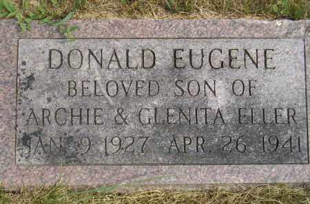 ELLER, DONALD EUGENE - Miner County, South Dakota | DONALD EUGENE ELLER - South Dakota Gravestone Photos