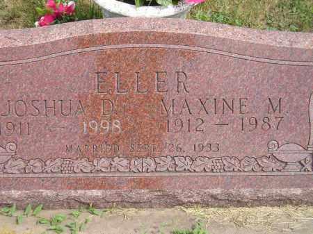 ELLER, JOSHUA D. - Miner County, South Dakota | JOSHUA D. ELLER - South Dakota Gravestone Photos