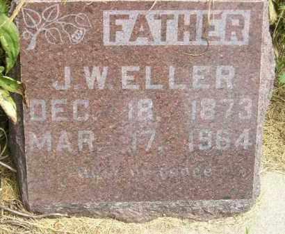 ELLER, J.W. - Miner County, South Dakota | J.W. ELLER - South Dakota Gravestone Photos