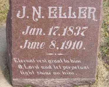 ELLER, J.N. - Miner County, South Dakota | J.N. ELLER - South Dakota Gravestone Photos