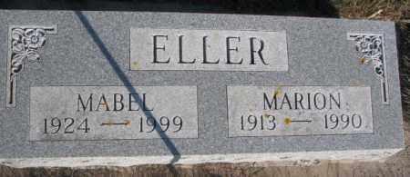 ELLER, MABEL - Miner County, South Dakota | MABEL ELLER - South Dakota Gravestone Photos