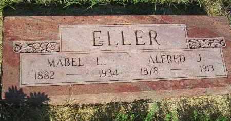ELLER, ALFRED J. - Miner County, South Dakota | ALFRED J. ELLER - South Dakota Gravestone Photos