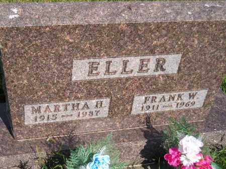 ELLER, MARTHA H. - Miner County, South Dakota | MARTHA H. ELLER - South Dakota Gravestone Photos