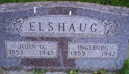 ELSHAUG, INGEBORG OLSDTR ROBERG - Miner County, South Dakota | INGEBORG OLSDTR ROBERG ELSHAUG - South Dakota Gravestone Photos