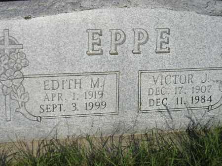 EPPE, EDITH M. - Miner County, South Dakota | EDITH M. EPPE - South Dakota Gravestone Photos