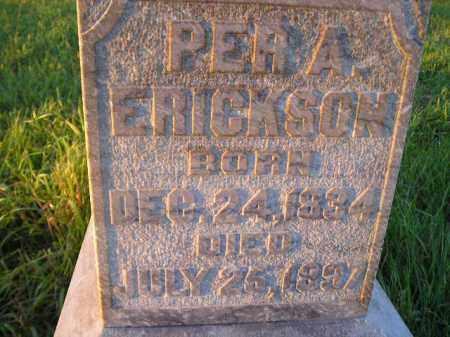 ERICKSON, PER A. - Miner County, South Dakota | PER A. ERICKSON - South Dakota Gravestone Photos
