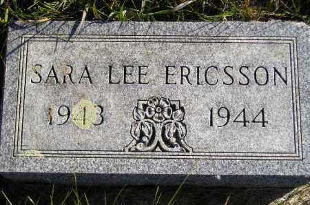 ERICSSON, SARA LEE - Miner County, South Dakota   SARA LEE ERICSSON - South Dakota Gravestone Photos