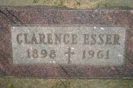 ESSER, CLARENCE - Miner County, South Dakota | CLARENCE ESSER - South Dakota Gravestone Photos