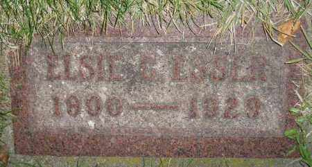 ESSER, ELSIE C. - Miner County, South Dakota | ELSIE C. ESSER - South Dakota Gravestone Photos