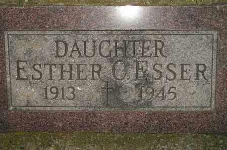 ESSER, ESTHER C. - Miner County, South Dakota | ESTHER C. ESSER - South Dakota Gravestone Photos