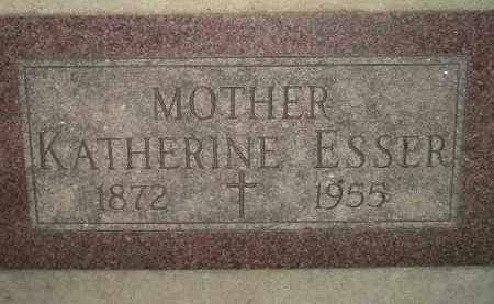 ESSER, KATHERINE - Miner County, South Dakota   KATHERINE ESSER - South Dakota Gravestone Photos