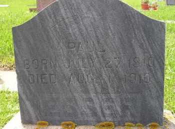 ESSER, PAUL - Miner County, South Dakota   PAUL ESSER - South Dakota Gravestone Photos