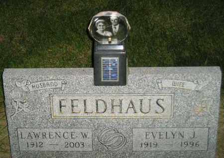 FELDHAUS, EVELYN J. - Miner County, South Dakota | EVELYN J. FELDHAUS - South Dakota Gravestone Photos