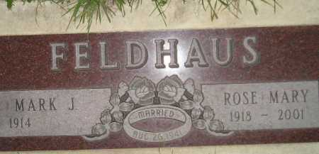 WINKLER FELDHAUS, ROSE MARY - Miner County, South Dakota | ROSE MARY WINKLER FELDHAUS - South Dakota Gravestone Photos