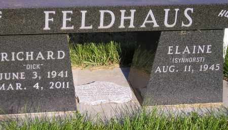 FELDHAUS, RICHARD JOHN - Miner County, South Dakota   RICHARD JOHN FELDHAUS - South Dakota Gravestone Photos
