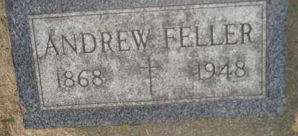 FELLER, ANDREW - Miner County, South Dakota | ANDREW FELLER - South Dakota Gravestone Photos