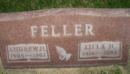 FELLER, ANDREW HENRY - Miner County, South Dakota | ANDREW HENRY FELLER - South Dakota Gravestone Photos