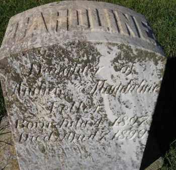 FELLER, CAROLINE - Miner County, South Dakota   CAROLINE FELLER - South Dakota Gravestone Photos