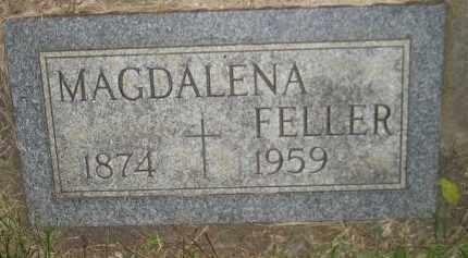 BESCHTA FELLER, MAGDALENA - Miner County, South Dakota   MAGDALENA BESCHTA FELLER - South Dakota Gravestone Photos