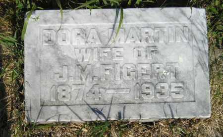 FIGERT, DORA MARTIN - Miner County, South Dakota | DORA MARTIN FIGERT - South Dakota Gravestone Photos