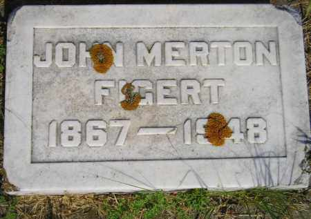 FIGERT, JOHN MERTON - Miner County, South Dakota | JOHN MERTON FIGERT - South Dakota Gravestone Photos