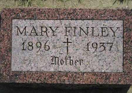 FINLEY, MARY - Miner County, South Dakota   MARY FINLEY - South Dakota Gravestone Photos