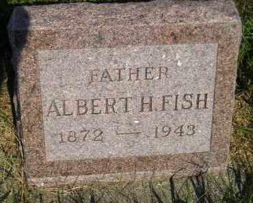 FISH, ALBERT H. - Miner County, South Dakota   ALBERT H. FISH - South Dakota Gravestone Photos