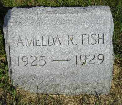 FISH, AMELDA R. - Miner County, South Dakota | AMELDA R. FISH - South Dakota Gravestone Photos