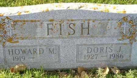 FISH, HOWARD M. - Miner County, South Dakota   HOWARD M. FISH - South Dakota Gravestone Photos