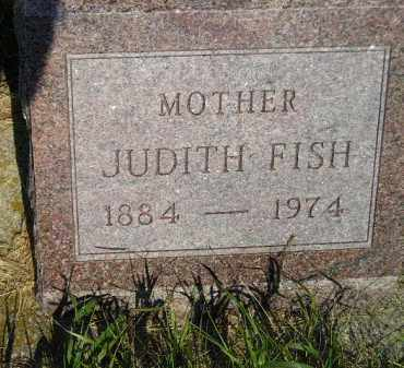 FISH, JUDITH - Miner County, South Dakota | JUDITH FISH - South Dakota Gravestone Photos