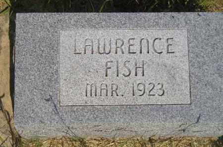 FISH, LAWRENCE - Miner County, South Dakota | LAWRENCE FISH - South Dakota Gravestone Photos
