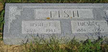 FISH, LUCY C. - Miner County, South Dakota | LUCY C. FISH - South Dakota Gravestone Photos