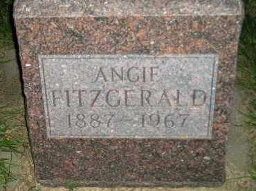 FITZGERALD, ANGIE - Miner County, South Dakota | ANGIE FITZGERALD - South Dakota Gravestone Photos