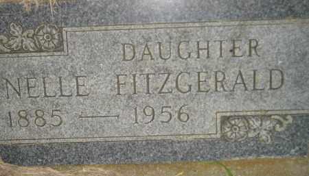 FITZGERALD, NELLIE - Miner County, South Dakota | NELLIE FITZGERALD - South Dakota Gravestone Photos