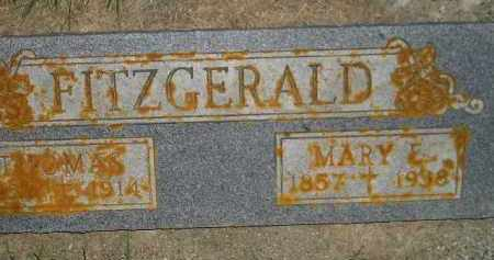 FITZGERALD, MARY ELLEN CLARE - Miner County, South Dakota | MARY ELLEN CLARE FITZGERALD - South Dakota Gravestone Photos