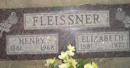 SCHROTT FLEISSNER, ELIZABETH - Miner County, South Dakota | ELIZABETH SCHROTT FLEISSNER - South Dakota Gravestone Photos