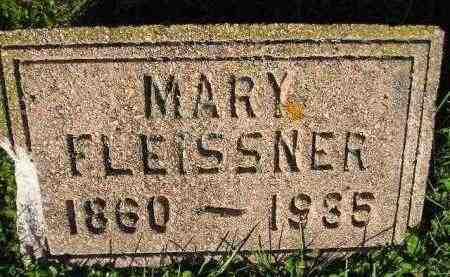 FLEISSNER, MARY SCHUELLER-DIEDRICH - Miner County, South Dakota   MARY SCHUELLER-DIEDRICH FLEISSNER - South Dakota Gravestone Photos