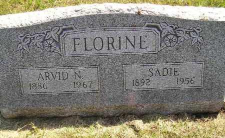 FLORINE, ARVID N. - Miner County, South Dakota | ARVID N. FLORINE - South Dakota Gravestone Photos