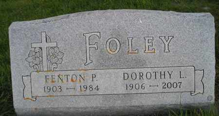 FOLEY, FENTON P - Miner County, South Dakota | FENTON P FOLEY - South Dakota Gravestone Photos