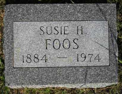 FOOS, SUSIE H. - Miner County, South Dakota | SUSIE H. FOOS - South Dakota Gravestone Photos