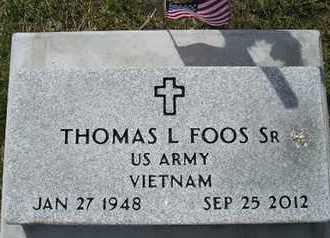FOOS, THOMAS L, SR - Miner County, South Dakota | THOMAS L, SR FOOS - South Dakota Gravestone Photos