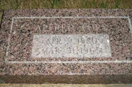 FORS, ALFRED - Miner County, South Dakota | ALFRED FORS - South Dakota Gravestone Photos