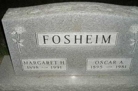 FOSHEIM, OSCAR A. - Miner County, South Dakota | OSCAR A. FOSHEIM - South Dakota Gravestone Photos