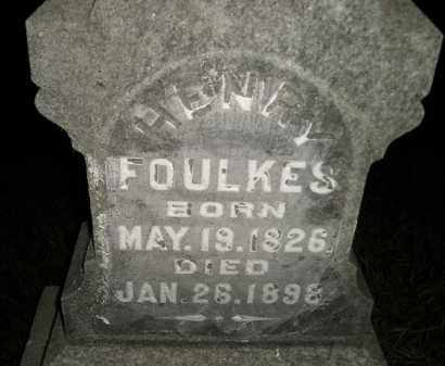 FOULKES, HENRY - Miner County, South Dakota | HENRY FOULKES - South Dakota Gravestone Photos