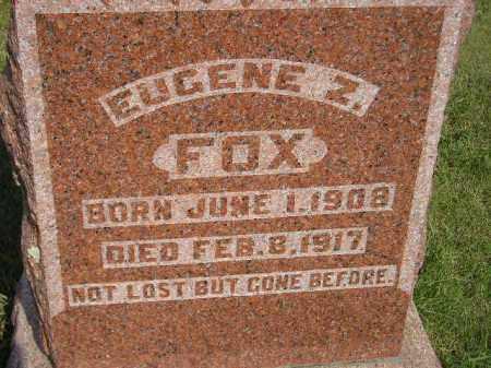 FOX, EUGENE Z. - Miner County, South Dakota | EUGENE Z. FOX - South Dakota Gravestone Photos