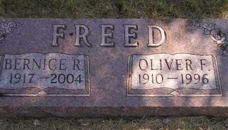 FREED, BERNICE R. - Miner County, South Dakota | BERNICE R. FREED - South Dakota Gravestone Photos