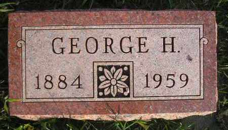 FREEMAN, GEORGE H. - Miner County, South Dakota | GEORGE H. FREEMAN - South Dakota Gravestone Photos